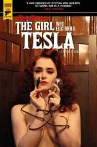 Minky Woodcock Girl Electrified Tesla #1 CVR C Photo