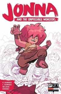 Jonna And The Unpossible Monsters #1 Second Printing
