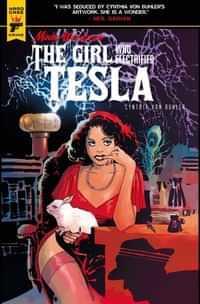 Minky Woodcock Girl Electrified Tesla #1 CVR B Strips