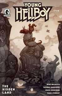 Young Hellboy The Hidden Land #3 CVR B Beckert