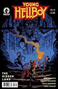 Young Hellboy The Hidden Land #3 CVR A Smith