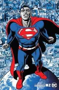 Superman Red and Blue #2 CVR B Brian Bolland Var