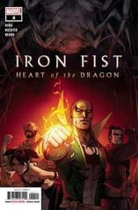 Iron Fist Heart Of Dragon #4