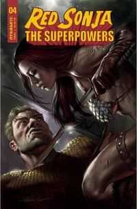 Red Sonja The Superpowers #4 CVR A Parrillo