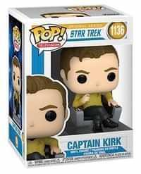 Funko Pop Star Trek Captain Kirk in Chair