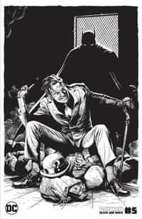 Batman Black and White #5 CVR C Gary Frank The Riddler