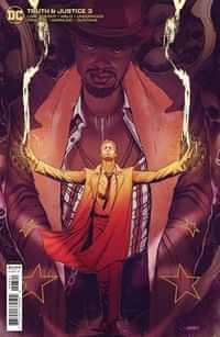 Truth and Justice #3 CVR B Joshua Sway Swaby