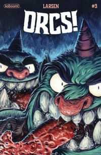 Orcs #3 CVR A Larsen