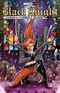 Black Knight Curse Ebony Blade #2 Variant Ron Lim