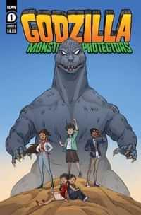 Godzilla Monsters and Protectors #1 CVR A Dan Schoening
