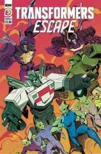 Transformers Escape #3 CVR A Mcguire-smith