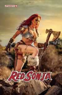 Red Sonja #26 CVR E Gracie Cosplay