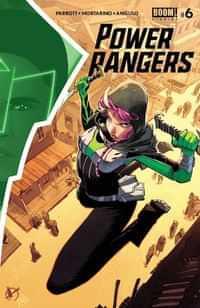 Power Rangers #6 CVR A Scalera