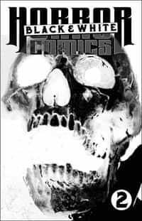 Horror Comics Black And White #2