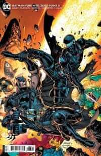 Batman Fortnite Zero Point #3 CVR B Cardstock Jim Lee And Scott Williams