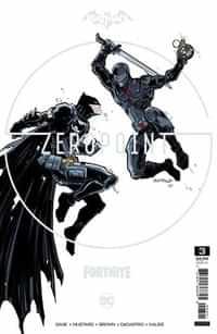 Batman Fortnite Zero Point #3 Variant Cardstock Donald Mustard