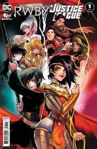 Rwby Justice League #1 CVR A Mirka Andolfo