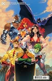 Teen Titans Academy #2 CVR B Cardstock Philip Tan