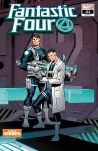 Fantastic Four #31 Variant Pacheco Reborn