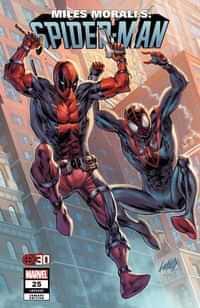 Miles Morales Spider-man #25 Variant Liefeld Deadpool 30th