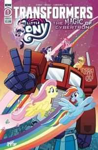 MLP Transformers II #1 CVR A Tony Fleecs