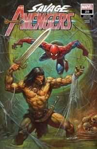 Savage Avengers #20 Variant Horley