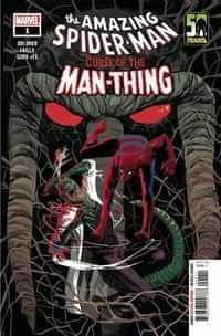 Spider-man Curse Of Man-thing #1