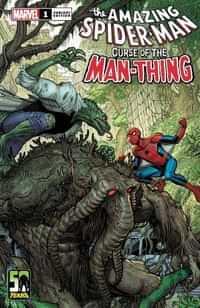 Spider-man Curse Of Man-thing #1 Variant Bradshaw