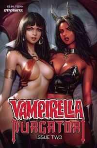 Vampirella Vs Purgatori #2 CVR A Chew