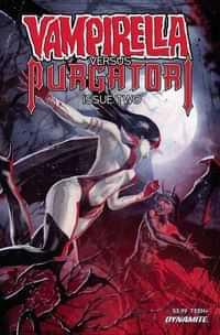Vampirella Vs Purgatori #2 CVR D Kudranski