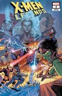 X-men Legends #3 Variant Coello Connecting