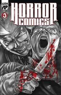 Horror Comics Black And White #3
