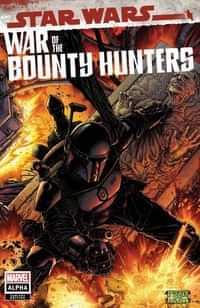 Star Wars War Bounty Hunters Alpha #1 Variant 50 Copy Black Armor
