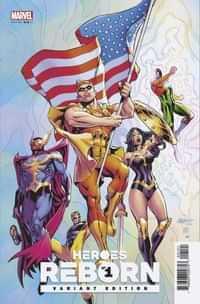Heroes Reborn #1 Variant Pacheco Squadron Supreme