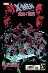 X-men Curse Man-thing #1