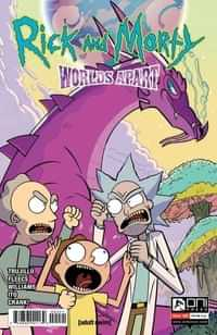 Rick And Morty Worlds Apart #4 CVR B Williams