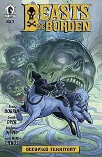 Beasts Of Burden Occupied Territory #2 CVR A Dewey