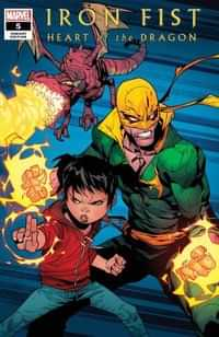 Iron Fist Heart Of Dragon #5 Variant Petrovich