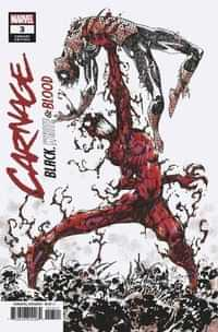 Carnage Black White And Blood #3 Variant Eastman