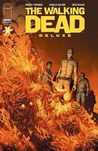 Walking Dead #14 Deluxe Edition CVR A Finch and Mccaig