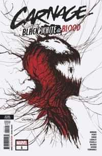 Carnage Black White And Blood #1 Second Printing Gleason