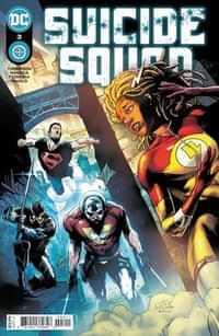 Suicide Squad #3 CVR A Eduardo Pansica