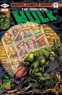 Immortal Hulk #46 Variant Bennett Homage