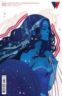 Sensational Wonder Woman #3 CVR B Cardstock Marguerite Sauvage