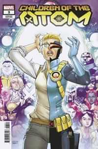 Children Of Atom #3 Variant 25 Copy Silva