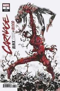 Carnage Black White And Blood #3 Variant 25 Copy Mccrea