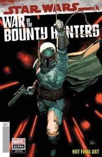 Star Wars War Bounty Hunters Alpha #1 Variant Yu