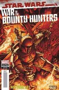 Star Wars War Bounty Hunters Alpha #1 Variant Mcniven Crimson