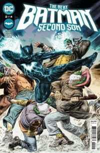 Next Batman Second Son #2 CVR A Doug Braithwaite