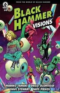 Black Hammer Visions #4 CVR A Olortegui